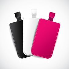 Free Set Of Cell Phone Cases Royalty Free Stock Photography - 29491417