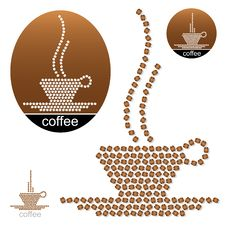Free Coffee Labels Royalty Free Stock Images - 29491429