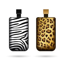 Free Cases For Cell Phone With Animal Print Royalty Free Stock Image - 29491656