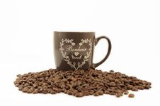 Free Coffee And Coffee Cup Royalty Free Stock Photography - 29492687