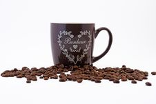 Free Coffee And Coffee Cup Royalty Free Stock Photos - 29493568