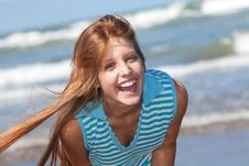 Free Laughing Girl Stock Photography - 29493962