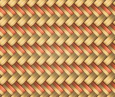 Free Wicker Background Royalty Free Stock Image - 29495056