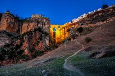 Free The Village Of Ronda In Andalusia, Spain. Stock Image - 29496941