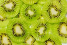 Free Kiwi Fruit Cut into Pieces. Stock Images - 29496964