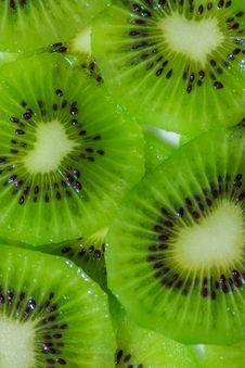 Free Kiwi Fruit Cut into Pieces. Royalty Free Stock Image - 29496976