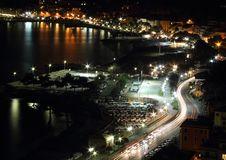 Free Panorama On The Sea At Night Stock Photos - 29498923