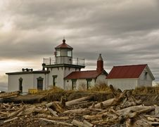 Free West Point Lighthouse Royalty Free Stock Photos - 29499178