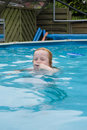 Free Girl Playing In The Water Royalty Free Stock Photos - 2954638