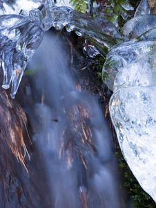 Free Icy Waterfall Royalty Free Stock Photos - 2950688