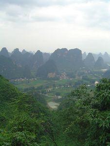 Free China Mountain Royalty Free Stock Photo - 2950755
