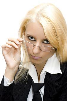 Free Portrait Of Businesswoman Stock Photography - 2950842