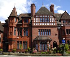 Gothic Style English House Royalty Free Stock Photography