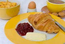 Vegetarian-gourmet Breakfast Stock Photos