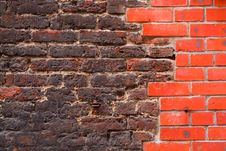 Free Brick Wall Background Stock Images - 2952024