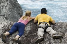 Free Two ROck Climbers Stock Image - 2952501