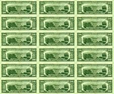 Free Dollar Background Stock Image - 2952611