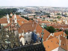 Praha - Aerial View Royalty Free Stock Photo