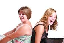 Free Laughing Teenagers Stock Images - 2953524