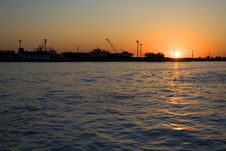 Free Industrial Sunrise Stock Photography - 2953582