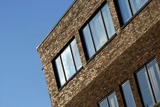 Free Angled Brick Building Stock Photography - 2954352