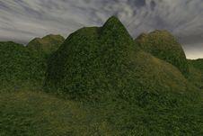 Free Alien Landscape Royalty Free Stock Image - 2955096