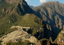 Free Machu Picchu Mountains Royalty Free Stock Photo - 2956065