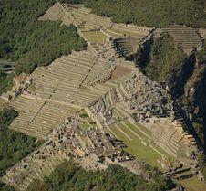 Free Machu Picchu Ruins Royalty Free Stock Photo - 2956105