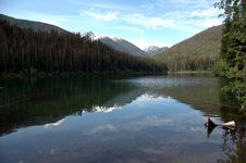 Free Lightning Lake Reflection Stock Photography - 2956662
