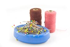 Free Sewing Material (focus Pins) Stock Photo - 2958380