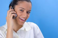 Free Girl With Phone Stock Images - 2958994
