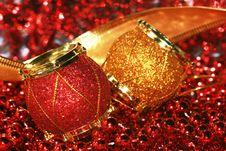 Christmas Decoration Drum Royalty Free Stock Photo