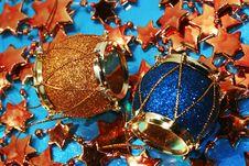 Free Christmas Decoration Drum Stock Photography - 2959212