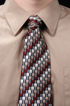 Free Close Up Of Tie Royalty Free Stock Photos - 2959638