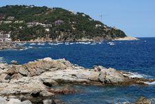 Coast @ Spain Royalty Free Stock Photo