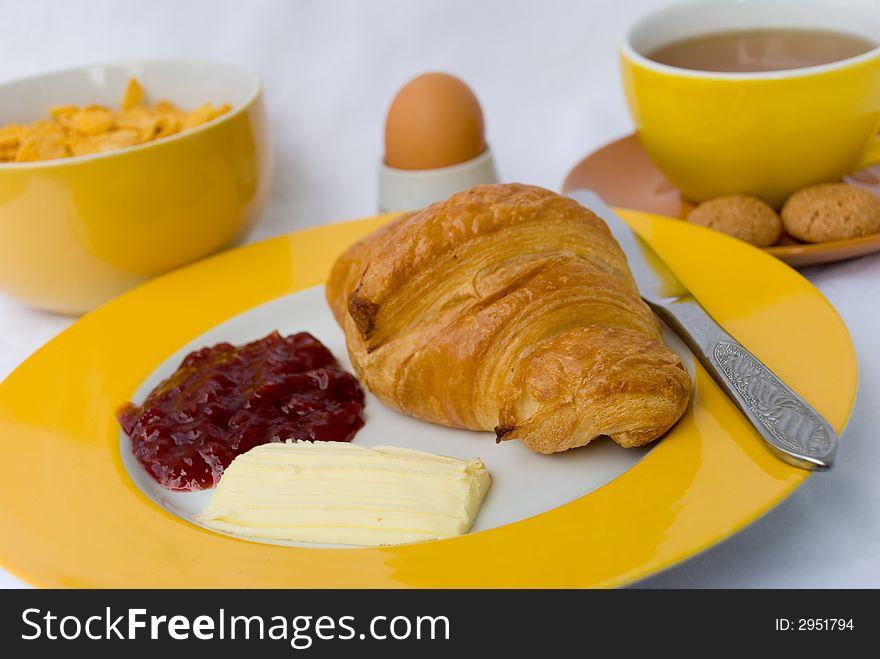 Vegetarian-gourmet breakfast