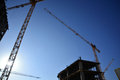 Free Construction And Cranes Royalty Free Stock Photo - 29501945