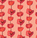 Free Flower Seamless Background. Royalty Free Stock Images - 29502139
