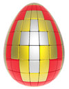 Free Abstract Easter Egg Royalty Free Stock Image - 29509496