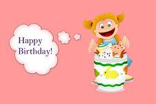Free Happy Birthday Cards Stock Photo - 29500280