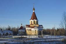 Free Church Of The Holy Martyr Panteleimon In Petrozavodsk Stock Images - 29501374
