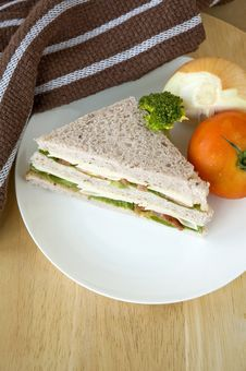 Free Healthy Sandwich Stock Image - 29501391