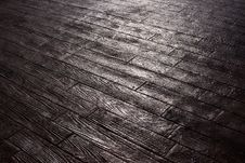 Free Wood-like Pavement Royalty Free Stock Photos - 29501968