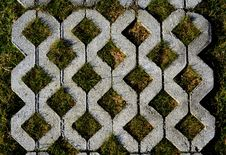 Free Walk Way Surface Of Concrete Blocks Royalty Free Stock Photography - 29502067