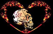 Free Art Skull Pattern Tattoo Stock Image - 29504181