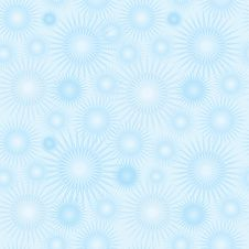 Abstract Snow Star Seamless Texture