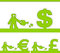 Free Human And Money Signs Stock Photography - 29508492