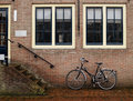 Free Bicycle On A Brick Wall Stock Photo - 29510330