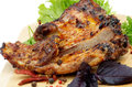 Free Barbecue Pork Ribs Royalty Free Stock Images - 29513969
