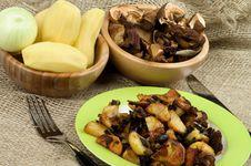 Roasted Potato Stock Image